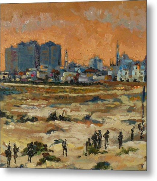 Gaza Landscape 021 Metal Print by Gavin Sane