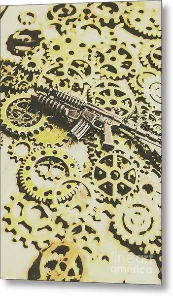 Gears Of War Metal Print