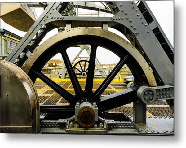 Gears Work Metal Print