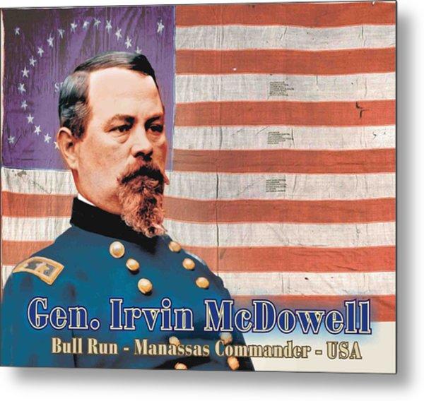 Gen. Irvin Mcdowell Metal Print