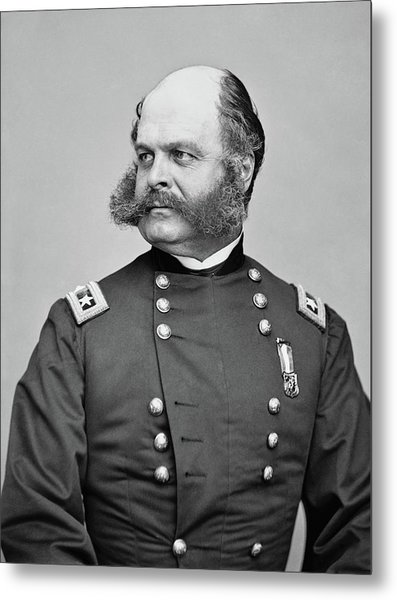 General Burnside - Civil War Metal Print