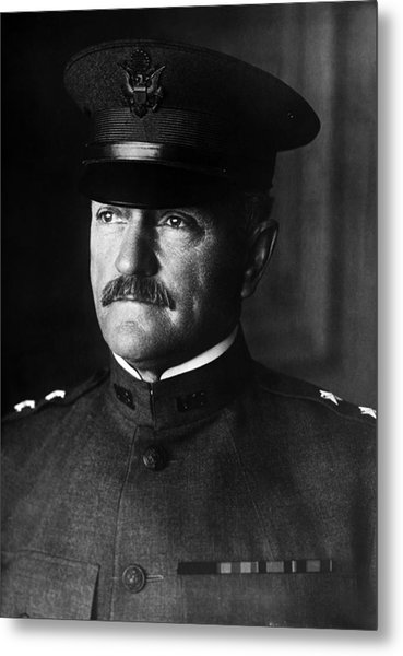 General John Pershing Portrait Metal Print