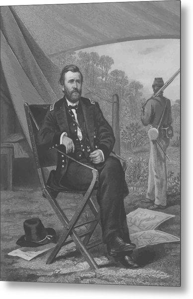 General U.s. Grant Metal Print