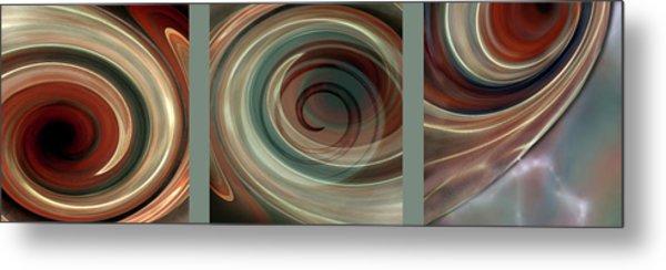 Genesis Triptychon Metal Print
