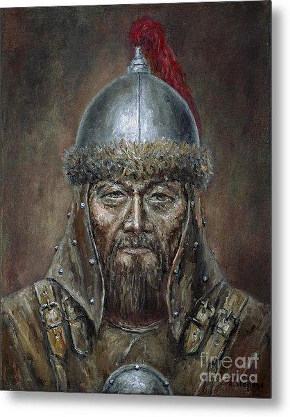 Genhis Khan Metal Print