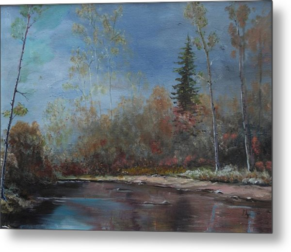 Gentle Stream - Lmj Metal Print