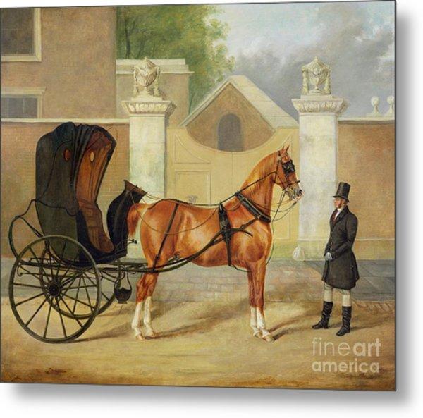 Gentlemen's Carriages - A Cabriolet Metal Print