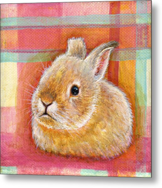 Metal Print featuring the painting Gentleness by Retta Stephenson