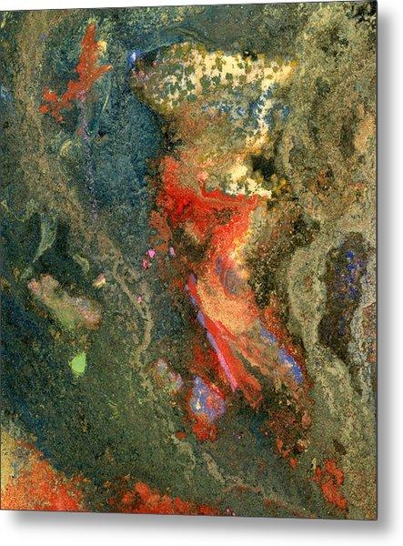 Geology-volcanic Metal Print