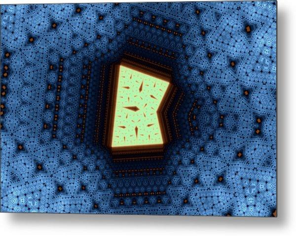 Geometric Patterns No. 50 Metal Print by Mark Eggleston