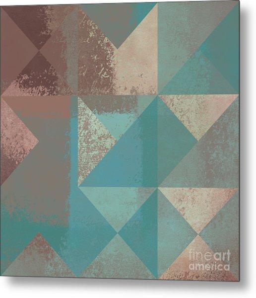 Geomix 03 - S123bc04t2a Metal Print