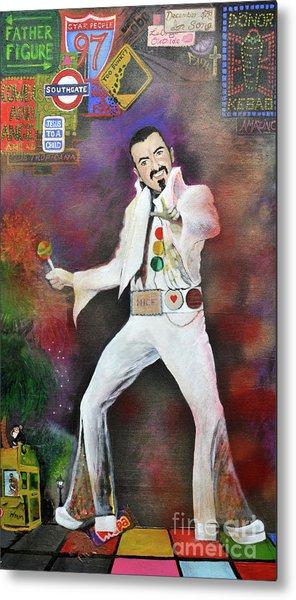 George Michael Gentlemen And Ladies Metal Print