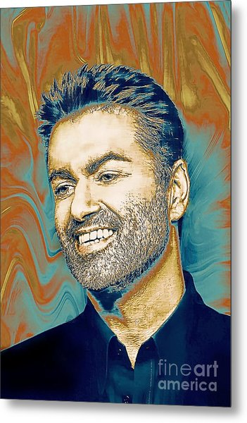 George Michael - Tribute  Metal Print