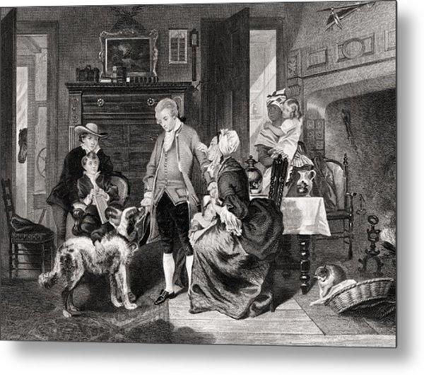 George Washington 1732 To 1799 Hears Metal Print