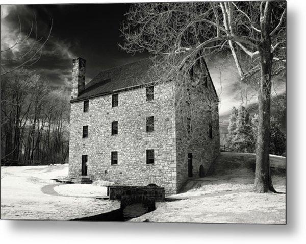 George Washingtons Gristmill Metal Print