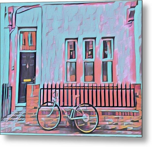 Georgetown Cycle Metal Print