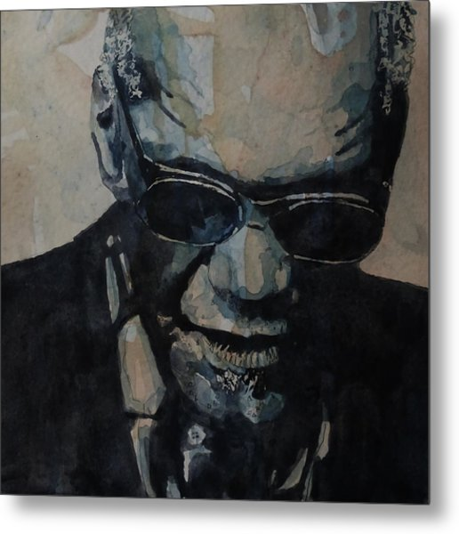 Georgia On My Mind - Ray Charles  Metal Print