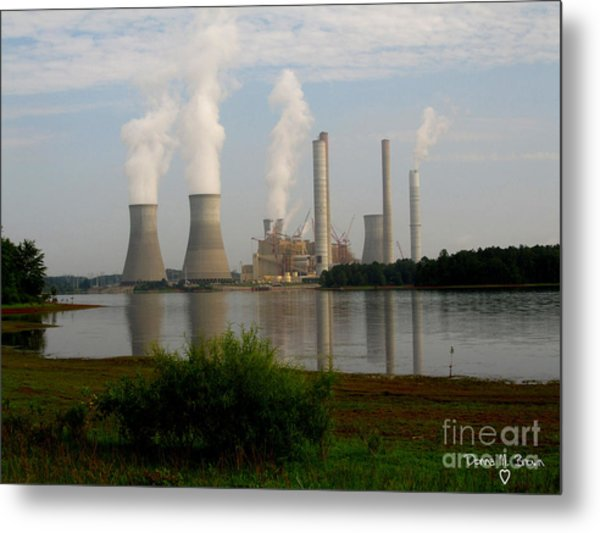 Georgia Power Plant Metal Print