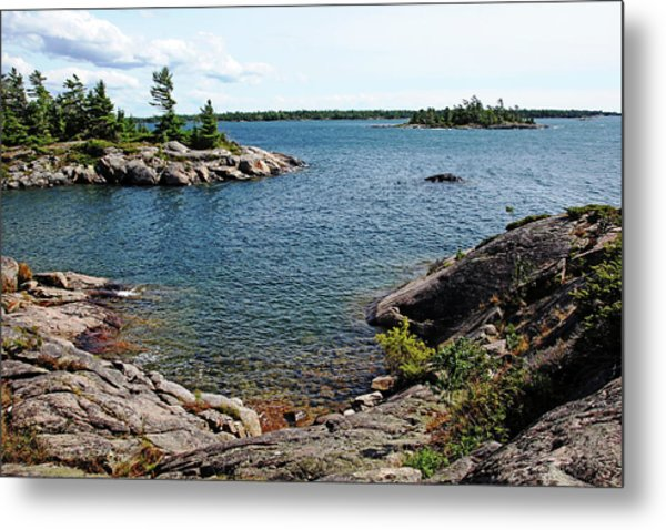 Georgian Bay Islands Metal Print
