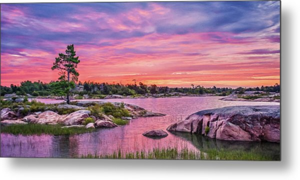 Georgian Bay Sunrise Metal Print