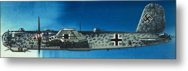German Aircraft Of World War  Two Focke Wulf Condor Bomber Metal Print