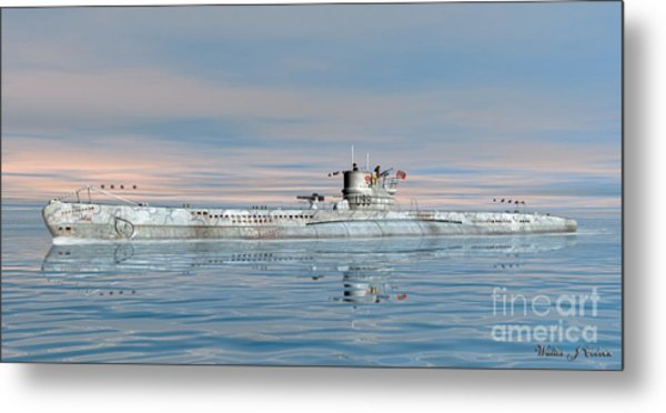 German Submarine U-99 Metal Print
