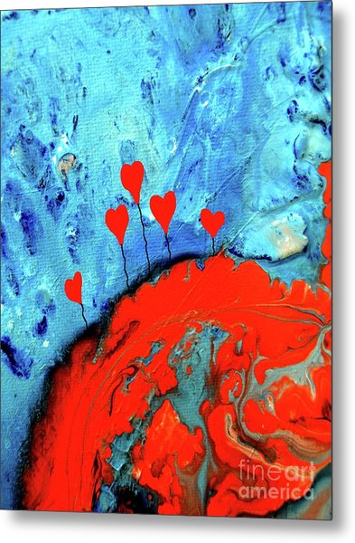 Germinating Love Metal Print