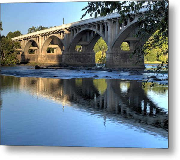 Gervais Street Bridge-1 Metal Print