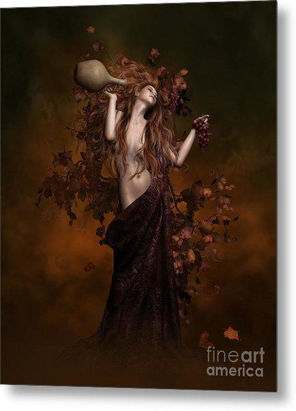 Geshtinanna Goddess Of Grape Vine Metal Print
