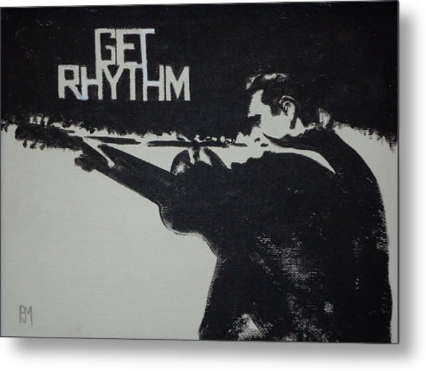 Get Rhythm Metal Print