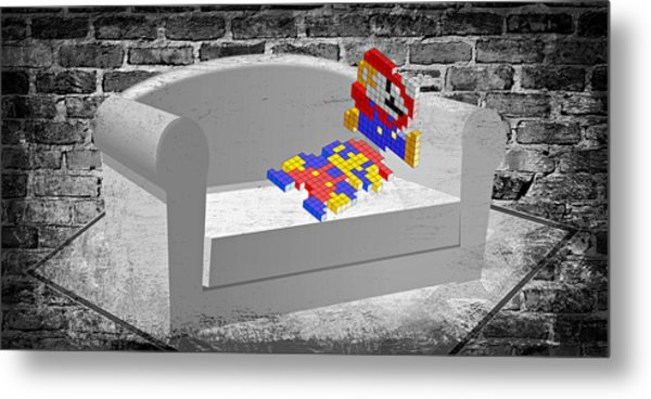 Get Up And Play Metal Print