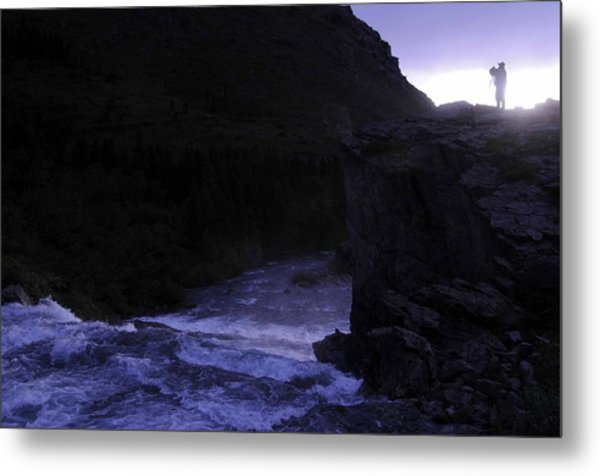 Getting The Shot Metal Print by Keith Lovejoy