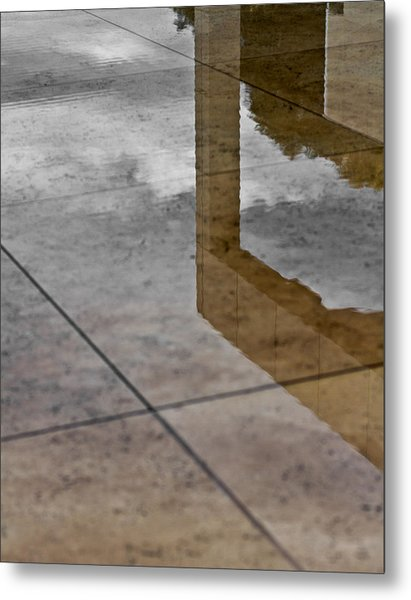 Getty Reflections Metal Print