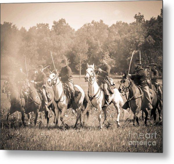 Gettysburg  Union Cavalry 7901s  Metal Print