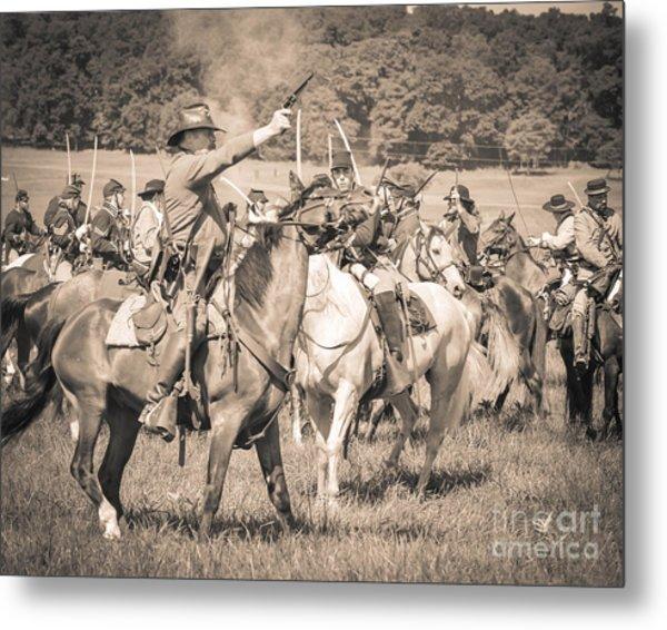 Gettysburg  Union Cavalry 7920s  Metal Print