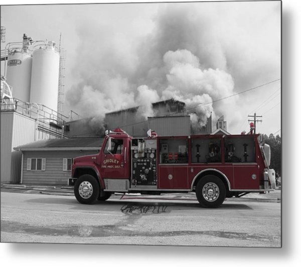 Metal Print featuring the photograph G.f.d. by Dylan Punke