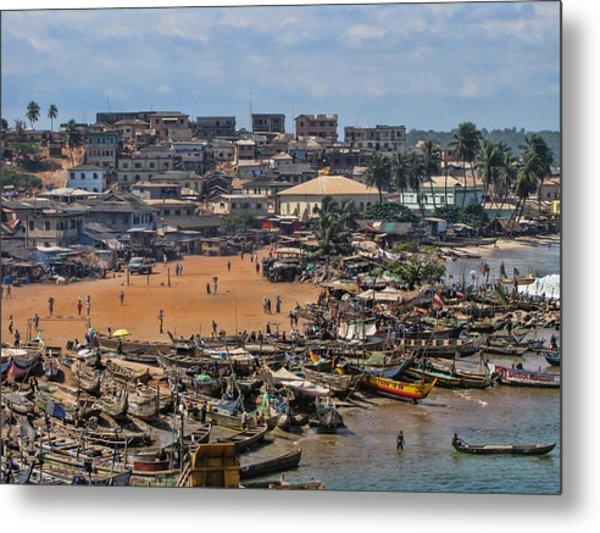 Ghana Africa Metal Print