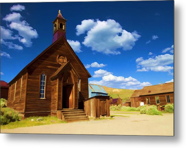 Ghost Church Metal Print
