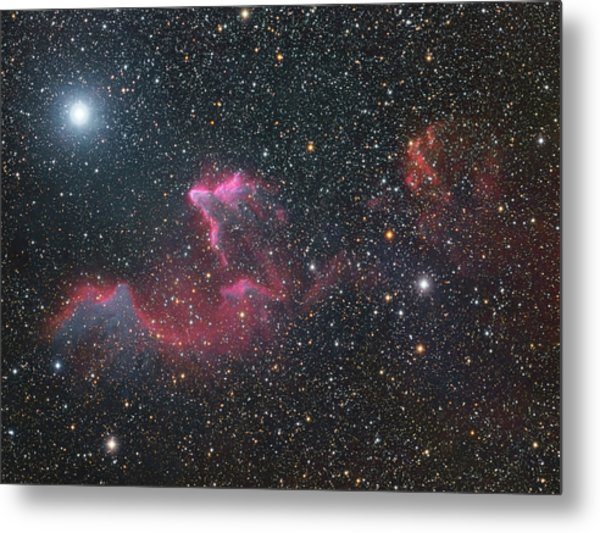 Ghost Of Cassiopeia Metal Print