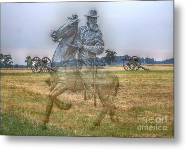 Ghost Of Gettysburg Metal Print