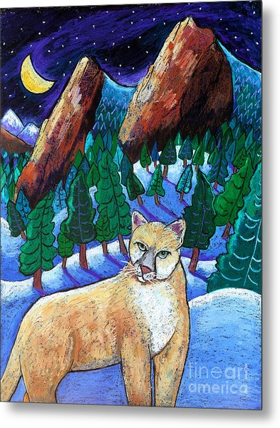 Ghost Of The Night Metal Print by Harriet Peck Taylor