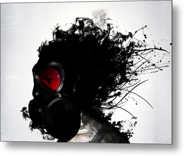 Ghost Warrior Metal Print