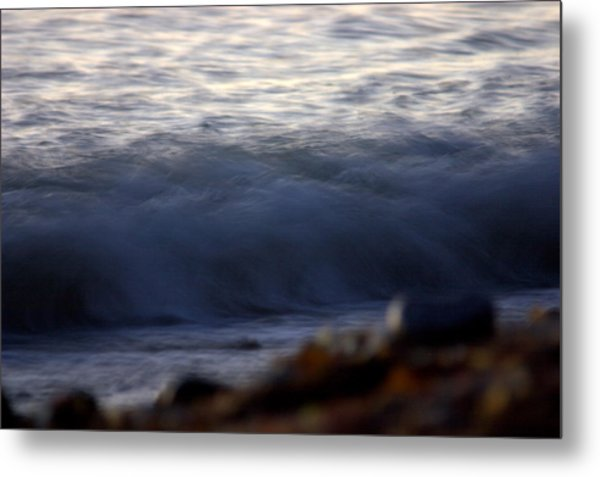 Ghost Wave Metal Print by Brad Scott