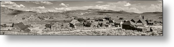 Ghostly Panorama Tobacco Metal Print