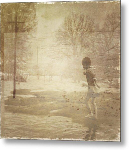 Ghosts And Shadows Vi - Mistaken Metal Print
