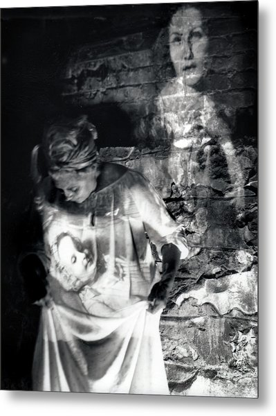 Ghosts Colonial 1 Metal Print