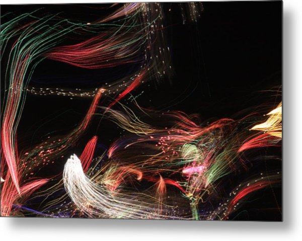 Ghosts Of Fireworks Past Metal Print by Jonathan Kotinek
