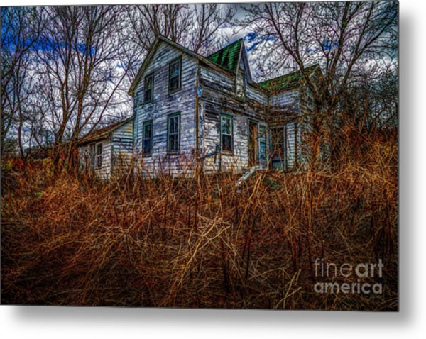 Ghosts Of The Past Metal Print