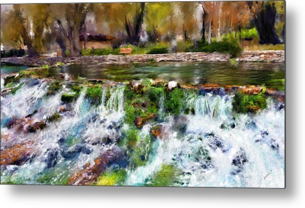 Giant Springs 1 Metal Print