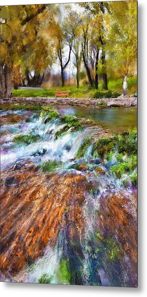 Giant Springs 2 Metal Print